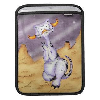 ORAGON ALIEN CARTOON  iPAD  VERTICAL iPad Sleeves