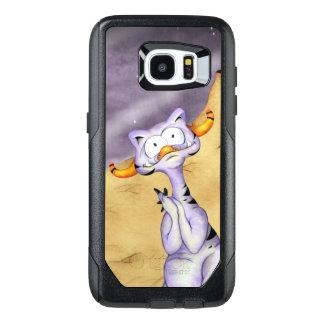 ORAGON ALIEN CARTOON Samsung Galaxy S7 Edge