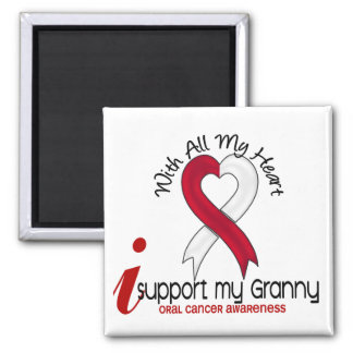 ORAL CANCER I Support My Granny Magnets