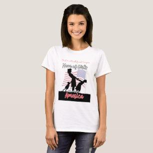 Oral & Maxillofacial Surgeon, Mom of Girls T-Shirt