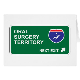Oral Surgery Next Exit Card