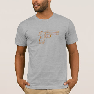 orange 9mm T-Shirt