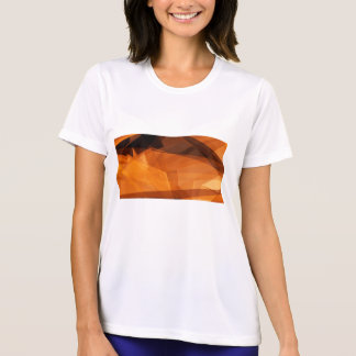 Orange Abstract Background for Design as Polygon T-Shirt