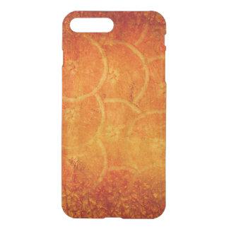orange abstract background iPhone 8 plus/7 plus case