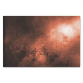Orange Abstract Tissue Paper