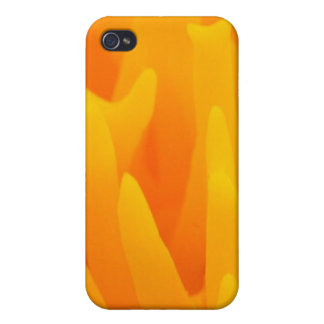 Orange Abstraction Case For iPhone 4