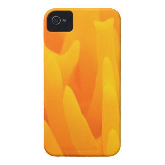 Orange Abstraction iPhone 4 Case