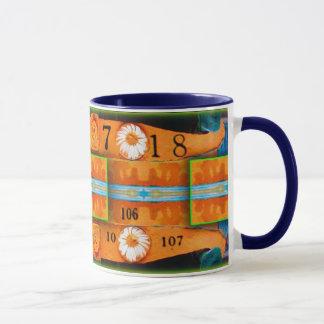 Orange Abstraction  Mug