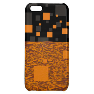 Orange alert float abstract Halloween black box iPhone 5C Cover
