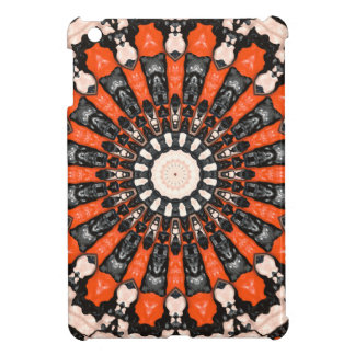 Orange And Black Abstract iPad Mini Case