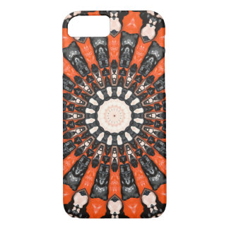 Orange And Black Abstract iPhone 8/7 Case