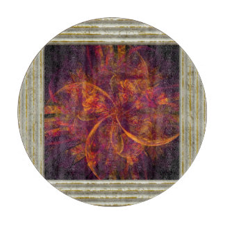 Orange And Black Fractal Boards