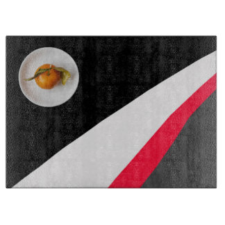 Orange and Black White Red Gray Background Boards
