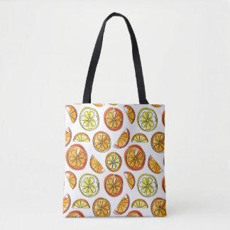 Orange and Lemon Bag - Fruit Tote
