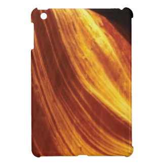 orange and red flow iPad mini cover