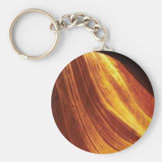 orange and red flow keychain