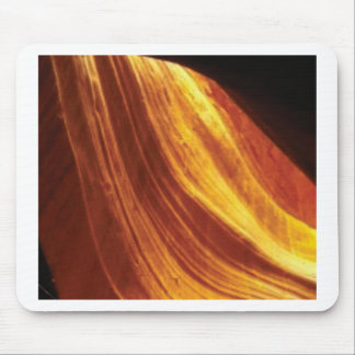 orange and red flow mouse pad