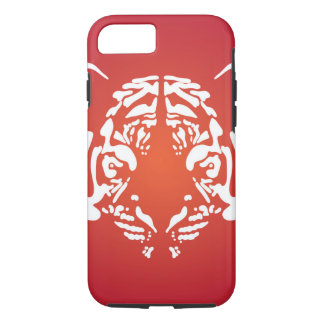 Orange and Red Tiger Face Case-Mate iPhone Case