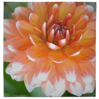 Orange and White Glory Napkin