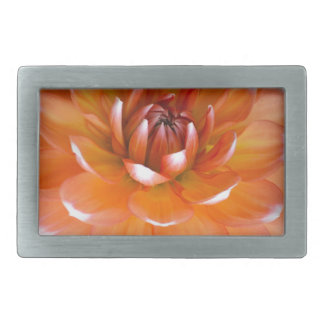 Orange and White Glory Rectangular Belt Buckle