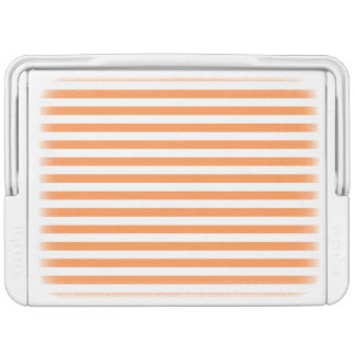 Orange and White Stripe Pattern