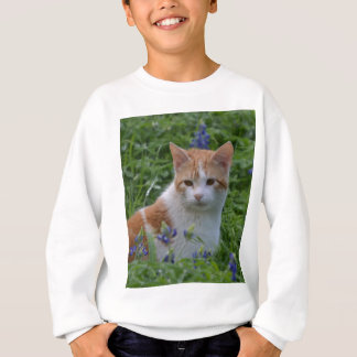 Orange and White Tabby Sweatshirt