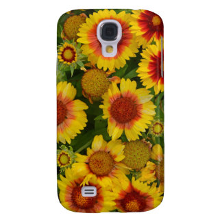 Orange and yellow echinacea floral phone case