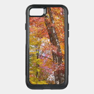 Orange and Yellow Fall Trees Autumn Photography OtterBox Commuter iPhone 8/7 Case