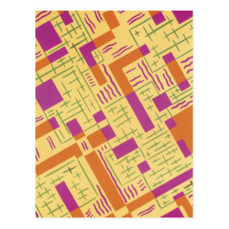 Orange Angles Postcard