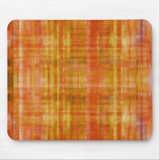 Orange Art Color Painting Mousepad