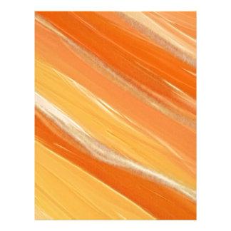 Orange Art Letterhead