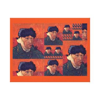 Orange art Vincent van Gogh Canvas Print