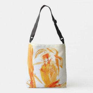 Orange Artist cross-body bag