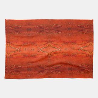 Orange Aztec Pattern2.0 Kitchen Towel