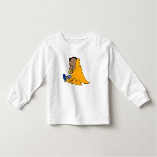 Orange baby blankie tee shirt