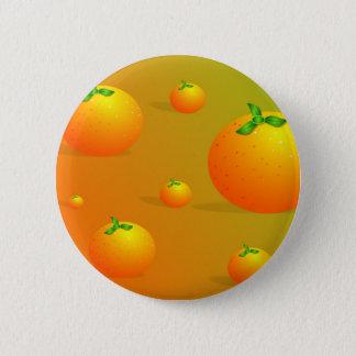 Orange Background 2 Inch Round Button