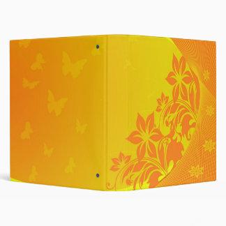 orange background Avery Binder