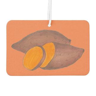 Orange Baked Sweet Potato Yam Cooking Foodie Food Car Air Freshener