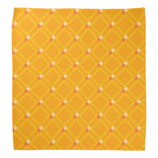 Orange bandana pattern