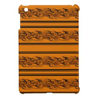 Orange barbwire iPad mini covers