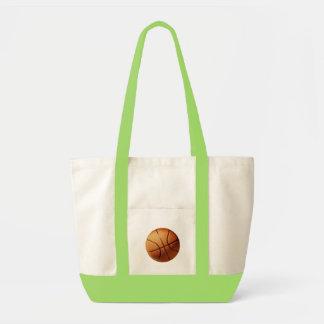 Orange_Basketball_Lime_Impulse_Tote_Shopping_Bag. Impulse Tote Bag