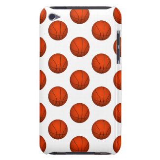 Orange Basketball Pattern iPod Touch Covers