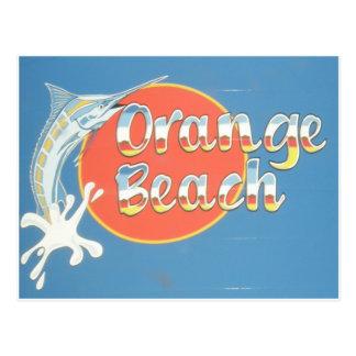 Orange Beach Post Card