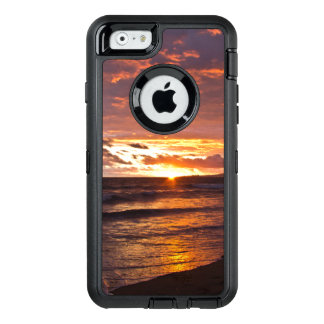 Orange Beach Sunset after the Storm OtterBox Defen OtterBox Defender iPhone Case