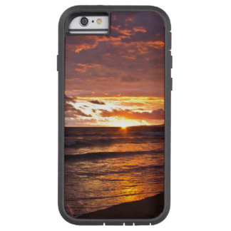 Orange Beach Sunset after the Storm Tough Xtreme iPhone 6 Case