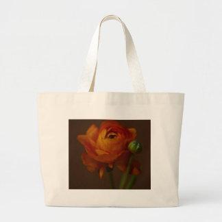 Orange Beauty Large Tote Bag