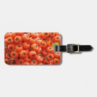 Orange Berries Luggage Tag