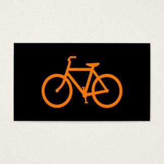 Orange Bike Business Card