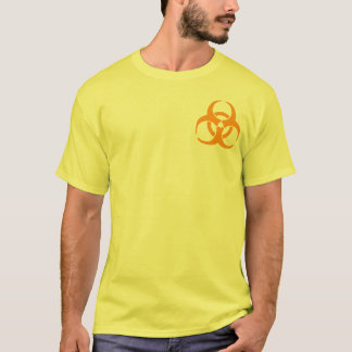 Orange Biohazard T-Shirt