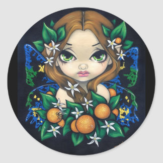 """Orange Blossom Fairy"" Sticker"